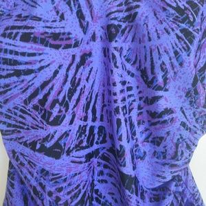 Speedo Swim - Speedo Geometric Abstract Purple Swimsuit